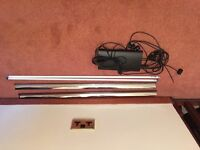 T5 2x 54/45w lighting unit with all fixings and bulbs