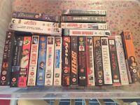 VHS video (films) - various