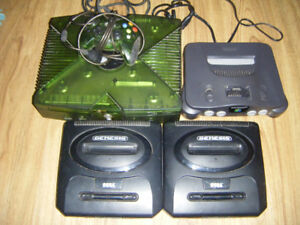 Older Game Consoles for Parts or Repair