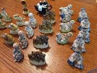 Large Collection Wade Figurines Whimsies and nursery