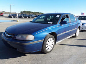 2002 Chevrolet Impala LS Sedan Blue FWD for ,LOW KMS!