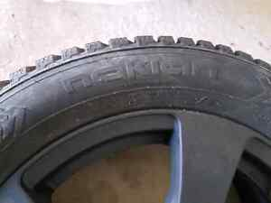 Nokian Hakkapeliitta winter studed tire Brand New