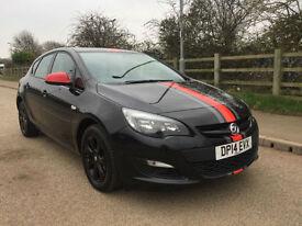 2014 14 Vauxhall/Opel Astra 1.4i VVT 16v 100 psDesign Low Miles 23K 61.4 mpg px