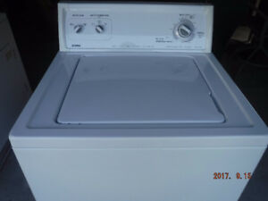 White Kenmore Washer