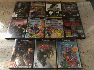 Gamecube Games (Mario Party, Kart, Smash, Zelda, etc)