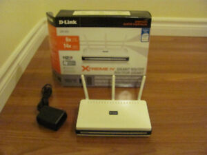 D-LINK DIR655 NETWORK XTREME WIRELESS ROUTER Great Condition