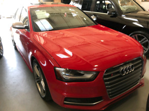 2013 Milano Red Pearl Audi S4 for sale! Manual