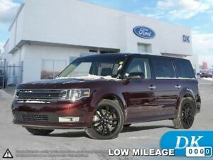 2017 Ford Flex SEL AWD 202A w/Leather, Moonroof, Nav, App Pkg, a