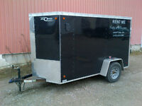 RENT ME 5x10 Enclosed Trailer $40/DAY