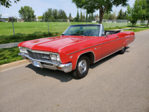 1966 Chevrolet Impala Convertible THIS WEEKEND ONLY 19500$