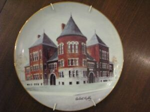 FOR SALE:  COLLECTOR PLATE CHATHAM CENTRAL SCHOOL