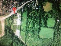 Terrain agricole de 8500 pieds-carrés à vendre ou à échanger.