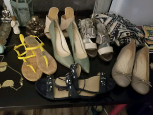 Designer shoes $10 a pair..size 6.5