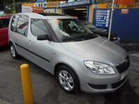 2011 11 SKODA ROOMSTER 1.6 TDI CR 105 SE IN SILVER # LOW MILEAGE PAN ROOF #