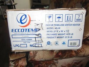 Tank less hot water heater for sale