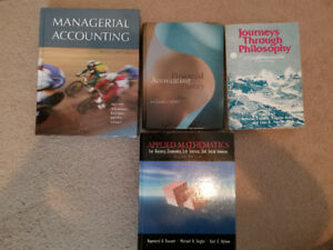 Business, economics, accounting, managerial, statistics, books