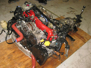 05 07 SUBARU WRX STi EJ207 2.0L ENGINE 6Speed TRANS VER 9 JDM