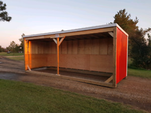 FALL SALE- Horse Shelters- we build year round!