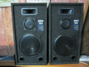 AUDIO TECH  Studio Monitor 250 watt stereo speakers