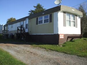 MOBILE HOME HAMPTON PARK $ 650  63 FIRST ST.