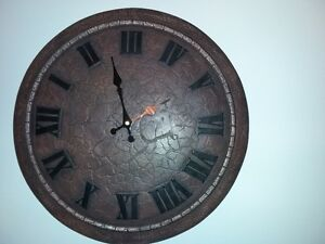 Beautiful Stone Clock (Bombay Company) for Sale - Cobourg
