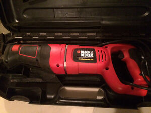 Black and decker sawsall