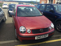 Volkswagen Polo 1.2 S 5 DOOR WITH FULL MOT