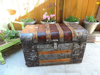 Antique trunk/dome chest