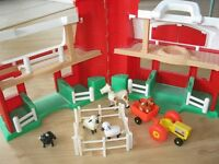 Ferme Fisher-Price avec animaux, à Longueuil