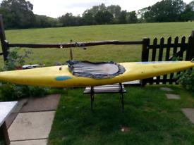 Mi3-6 kayak for sale with buoyancy aid