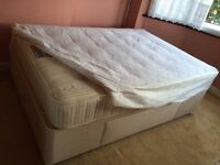 Divan bed with orthopaedic mattress in excellent condition!!
