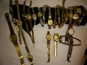 Over 40 Vintage watches for sale !