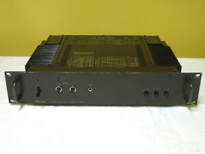 Technics SE-9060 Professional Series Stereo Power Amplifier