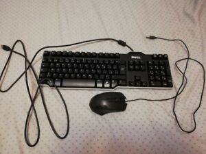 Dell keyboard and mouse