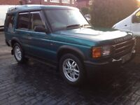 Land Rover Discovery TD5 Manual ready to tow
