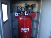 Shop Air Compressor with Shed Winnipeg Manitoba Preview