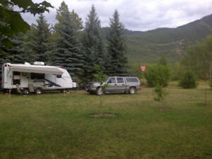 RV Trailer Rental close to Kootenay Lake and Moyie Lake and Area