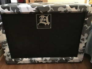 Aftershock custom designed 212 cabinet