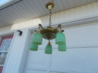 Vintage and Porcelain Lighting Fixtures
