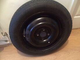 Mg zr spare wheel space saver