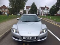 MZDA RX-8 COUPE 4DOORS AUTOMATIC . REGISTERED 23-04-2004. STOCK CLEARANCE
