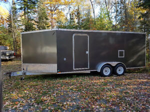 2015 23 x 7 Lightning Snowmobile Trailer by Forest River
