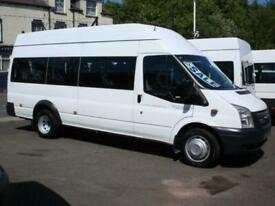 FORD TRANSIT 16 SEAT WHEELCHAIR ACCESSIBLE FRONT ENTRY MINIBUS COIF PSV 135PS