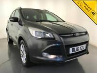 2016 FORD KUGA ZETEC DIESEL CRUISE CONTROL 5 DOOR HATCHBACK 1 OWNER FROM NEW