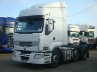 2011 Renault Premium 460 DXI 6x2, Opti Cruise