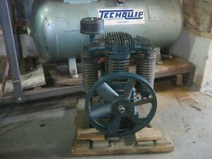 Air Compressor with extra pump