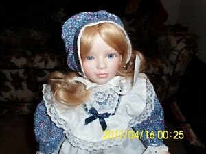collectable ceramic doll Vanessa  Karelle