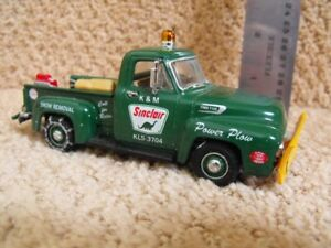 1954 Ford F 100 Sinclair Power Plow Die-cast