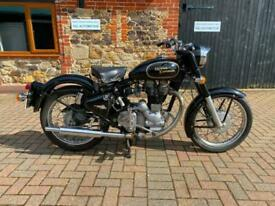 Royal Enfield Bullet 500cc Single 1996 Black Low Mileage Long MOT