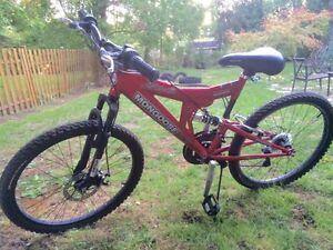 Mongoose Disturb 21 Speed Mountain Bike